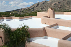 Completed roof in Tucson, Arizona