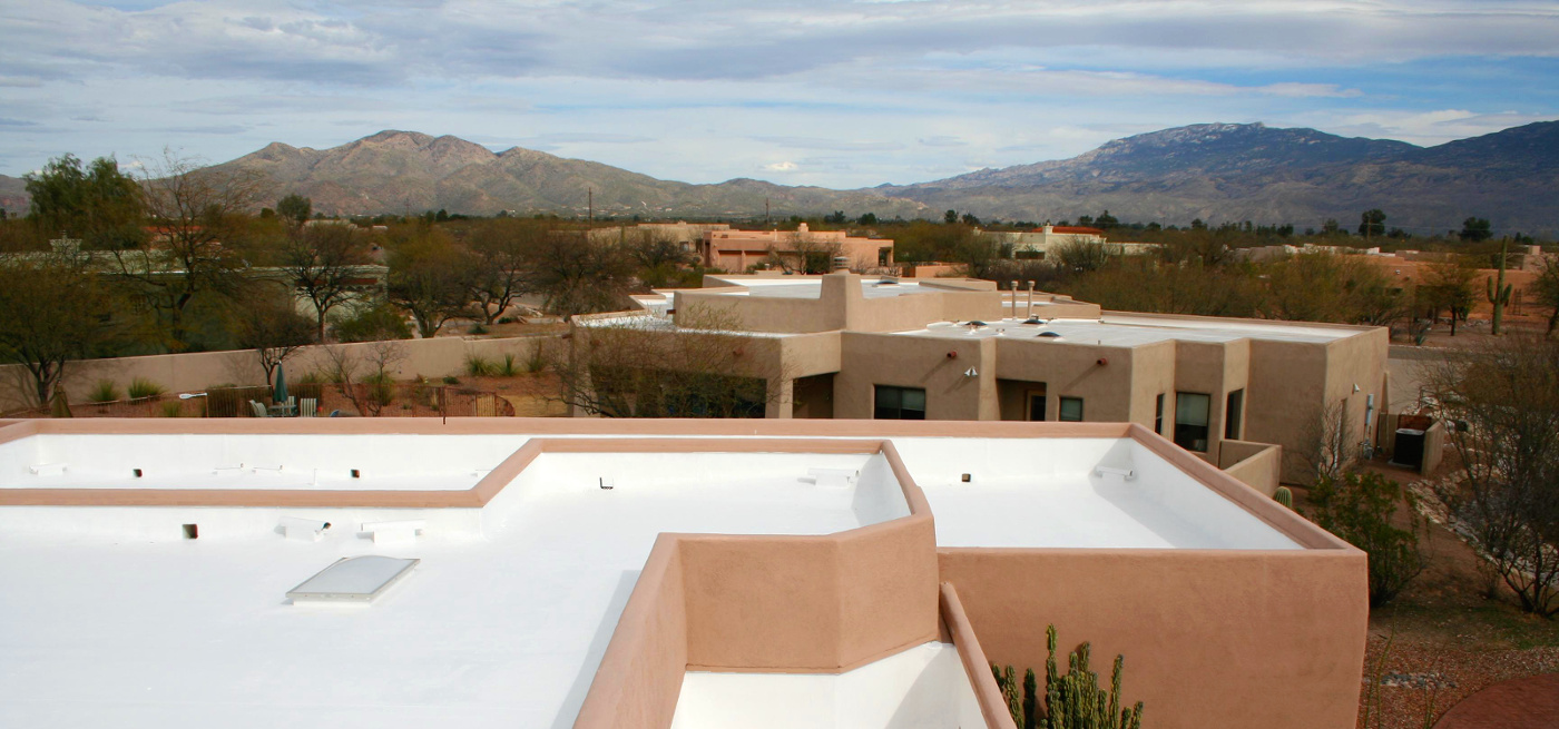 New roof in Tucson, Arizona