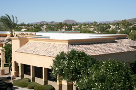 New commercial roof in Tucson