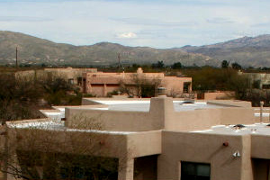 Repaired roof in Tucson
